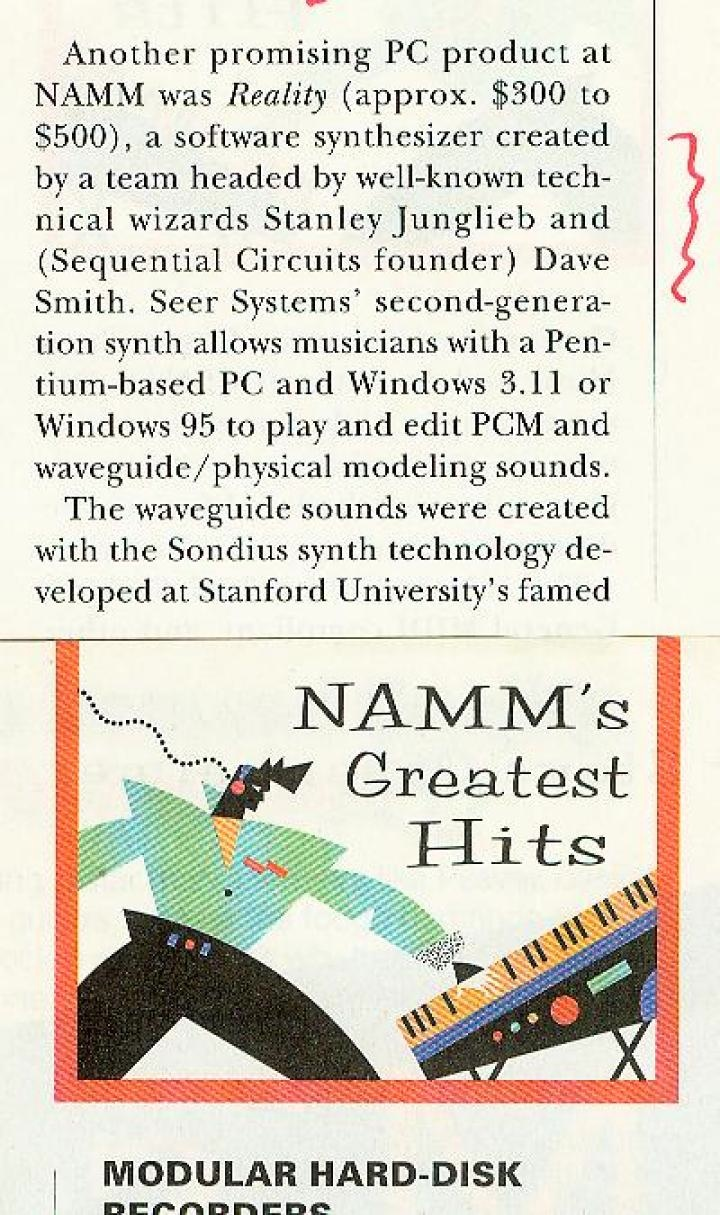 19970202 NAMMS GREATEST HITS