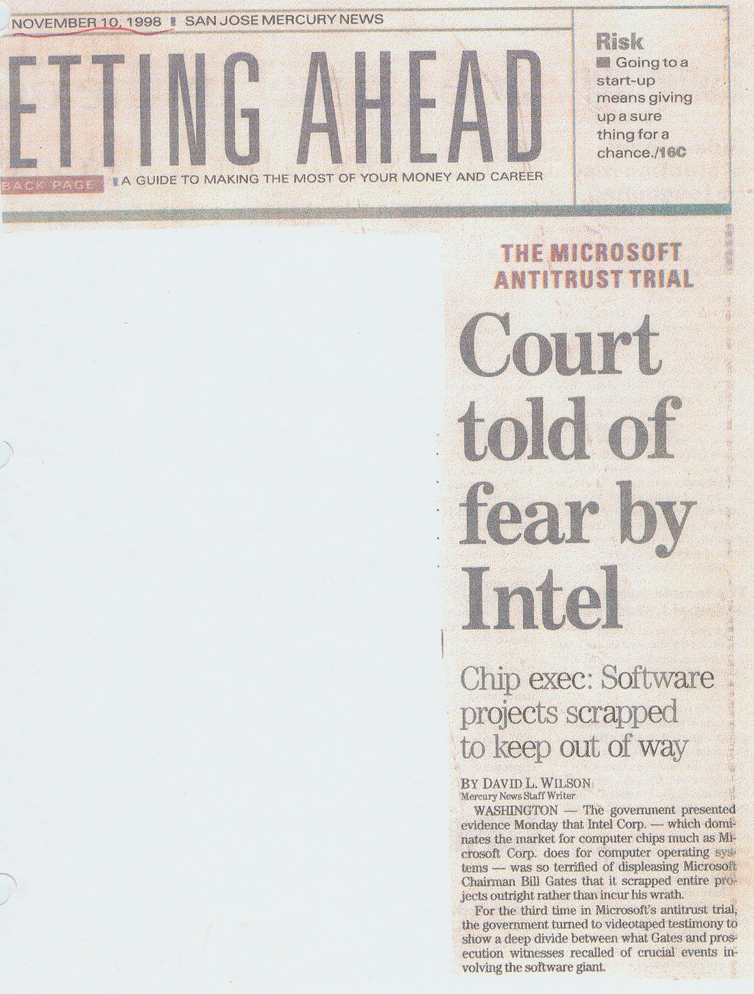 9811INTEL  Microsoft Articles Of Incorporation